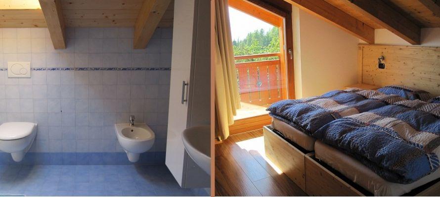 Camere e bagni della nuova struttura